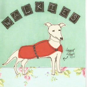 SALE - walkies card (was £2.50)
