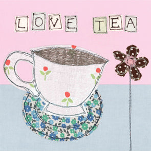 SALE - love tea card (was £2.25)