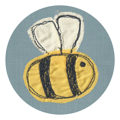 bee - set of 4 coasters