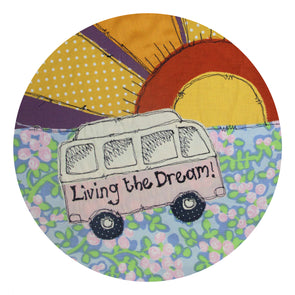 living the dream - set of 4 coasters
