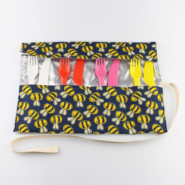 open bee cutlery roll