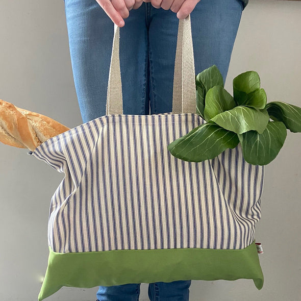 Busy bees - folding shopping bag
