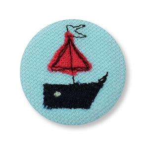 Boat - pretty badge