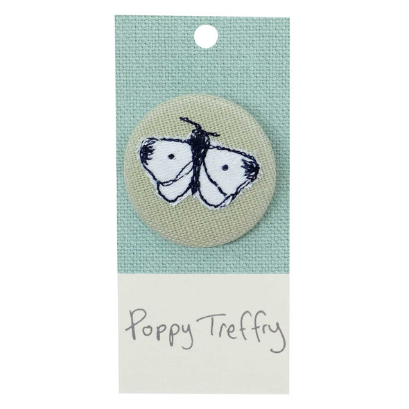 butterfly - pretty badge