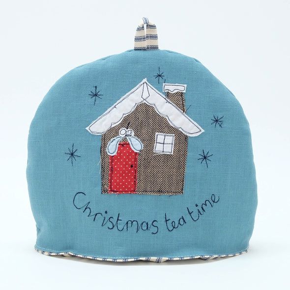 Christmas cabin - small tea cosy