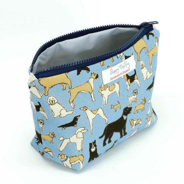 four legged friends - small wash bag