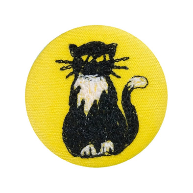 cat - pretty badge