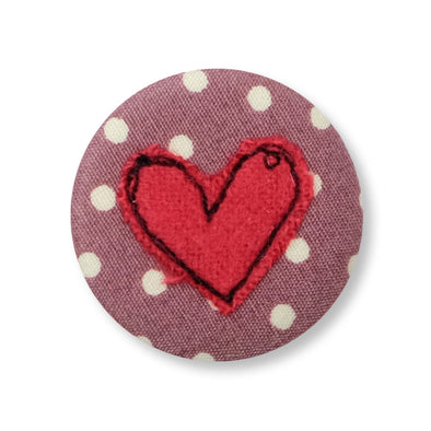 heart - pretty badge