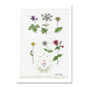 Hedgerow Flowers - A3 print