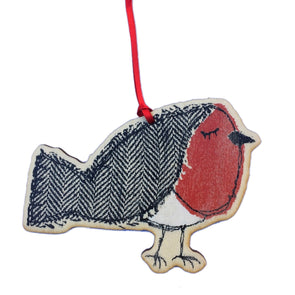 jolly robin - dingly dangly decoration