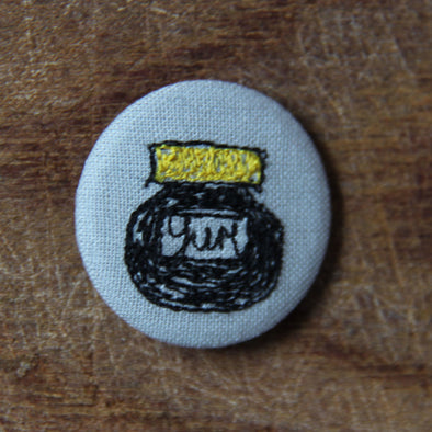 Mar-mite - pretty badge