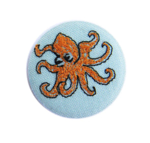 octopus - pretty badge