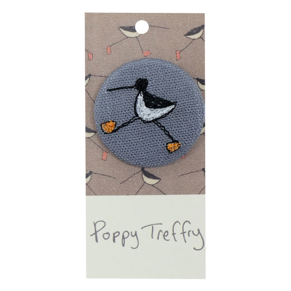 oyster catcher - pretty badge