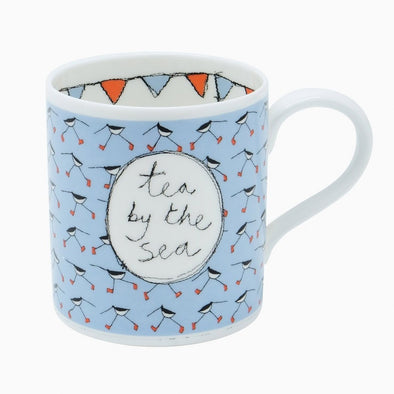 oyster catcher - bone china mug