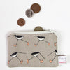 oyster catcher - small useful purse
