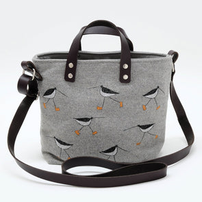 oystercatcher - mini sketchbook tote