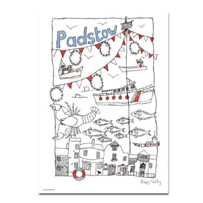 Padstow - A3 print