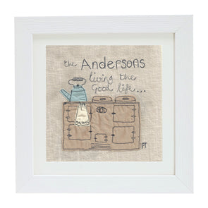 cosy kitchen - personalised picture