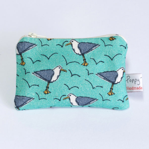 cheeky seagull - small useful purse