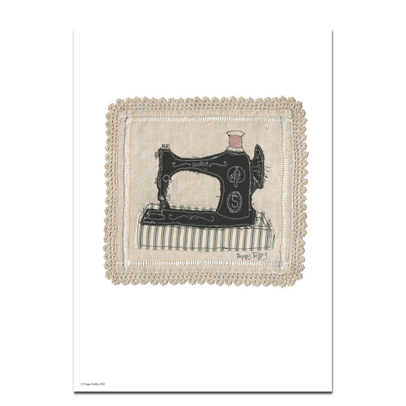sewing - A3 print