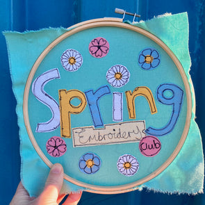 Spring Embroidery Club