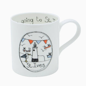 St. Ives - bone china mug