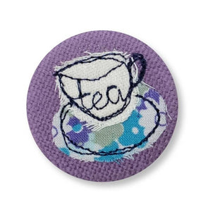 tea - pretty badge