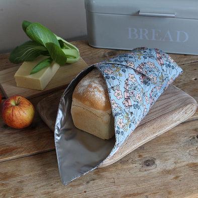 wild flowers bread wrap with bread