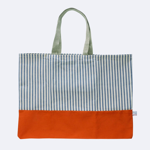 Wild flowers - folding shopping bag