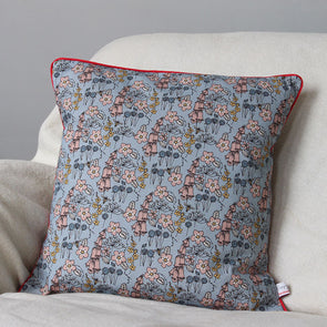wild flowers cushion