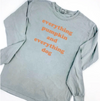 Everything Pumpkin and Dog Long Sleeve Tee sold by Royal Collections and Co