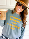 Blogger in Everything Pumpkin and Dog Long Sleeve Tee sold by Royal Collections and Co