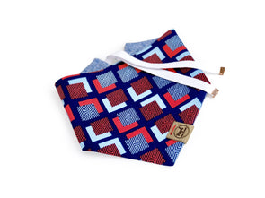True American Reversible Dog Bandana