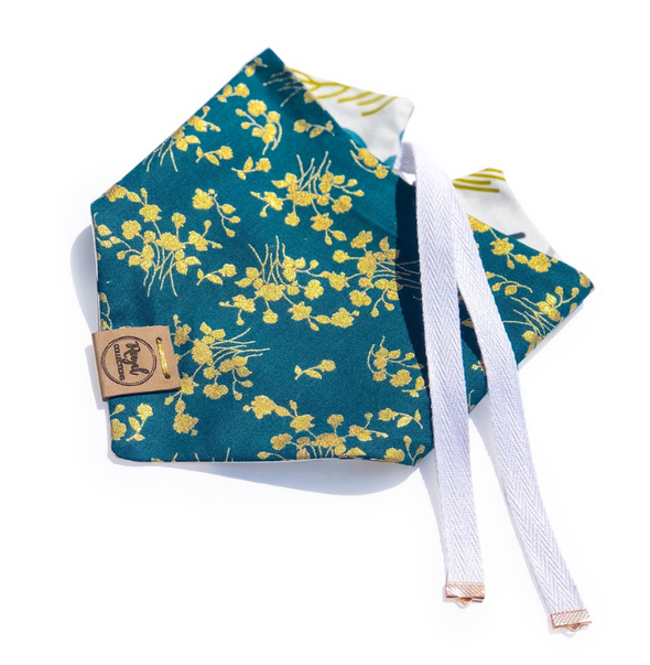 Magical Fields Reversible Dog Bandana