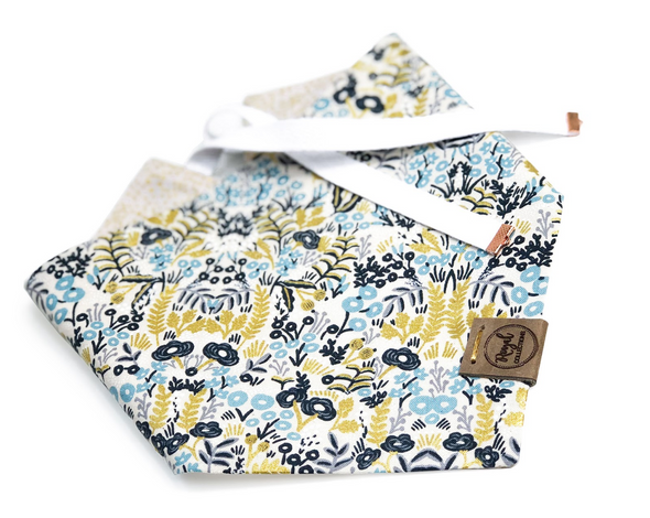 Date Night Reversible Dog Bandana made by Royal Collections and Co.