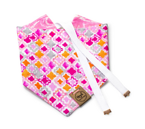 Pink Sands Reversible Dog Bandana