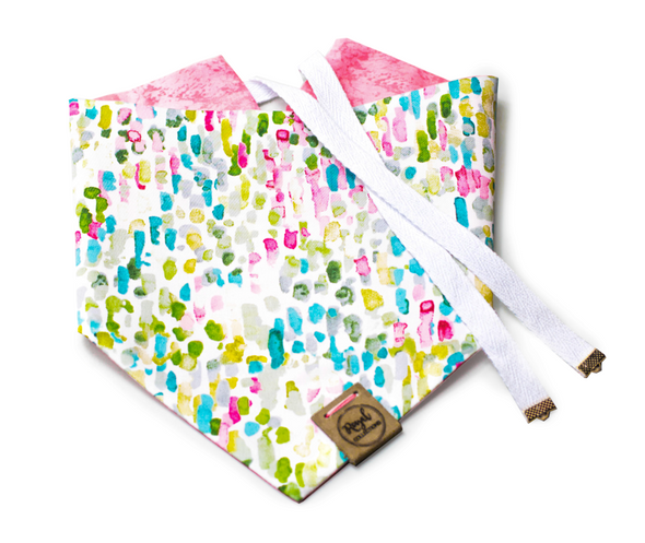 Lilly Pad Dreams Reversible Dog Bandana