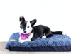 Blue Dots Dog Bed Cover