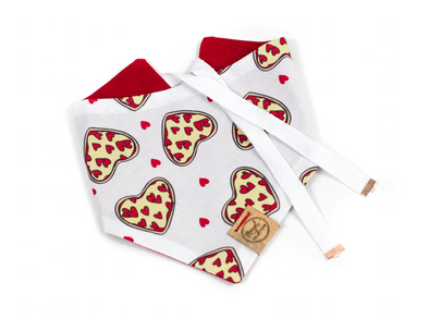 Cheesy Love Dog Bandana