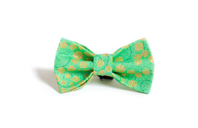 Metallic Clover Bow