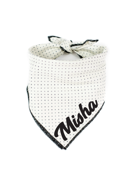 Neutral X Dog Bandana