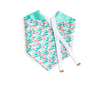 Spring Bloom - Blue Reversible Dog Bandana