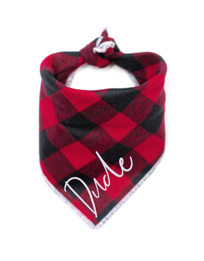 Buffalo Plaid Dog Bandana