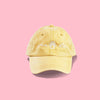 Summer Lovin' Dog Mom Hat - Mustard sold by Royal Collections and Co. made by Dapper Paw