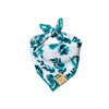 Teal Paisley Dog Bandana made by Royal Collections and Co.