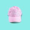 Tell Your Dog I Said Hi dog mom hat in Pink sold by Royal Collections and Co. made by Dapper Paw