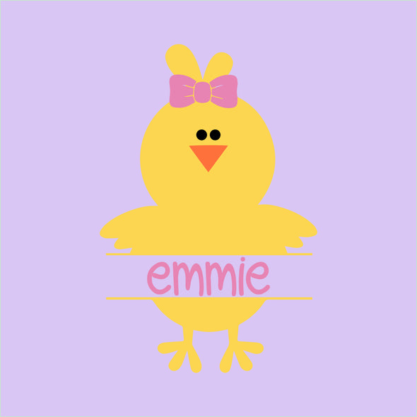 Personalized Chick - Girl
