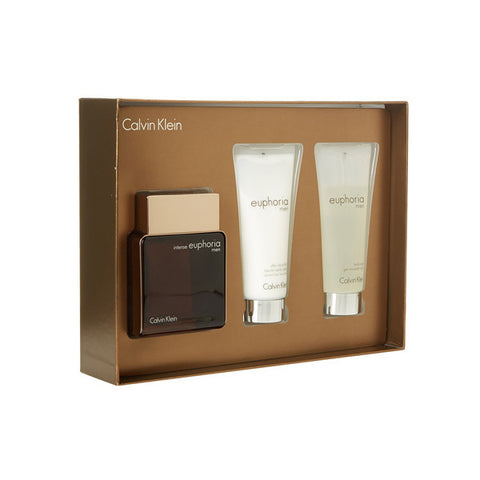 Euphoria Men Intense Gift Set by Calvin Klein
