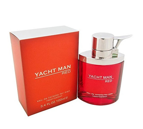 Yacht Man Red by Myrurgia - Luxury Perfumes Inc. -
