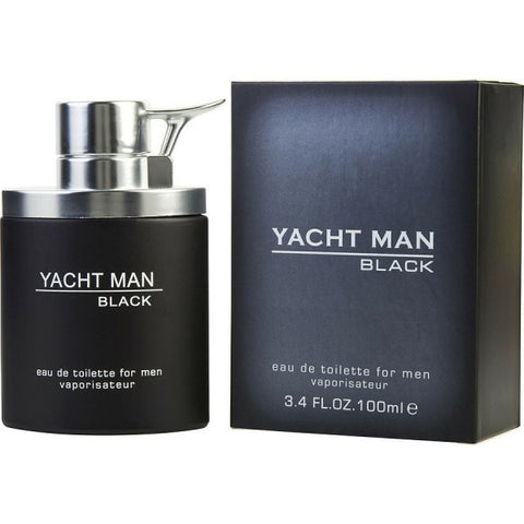 Yacht Man Black by Myrurgia - Luxury Perfumes Inc. -